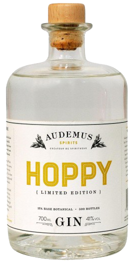 hoppy limited edition gin from Audemus