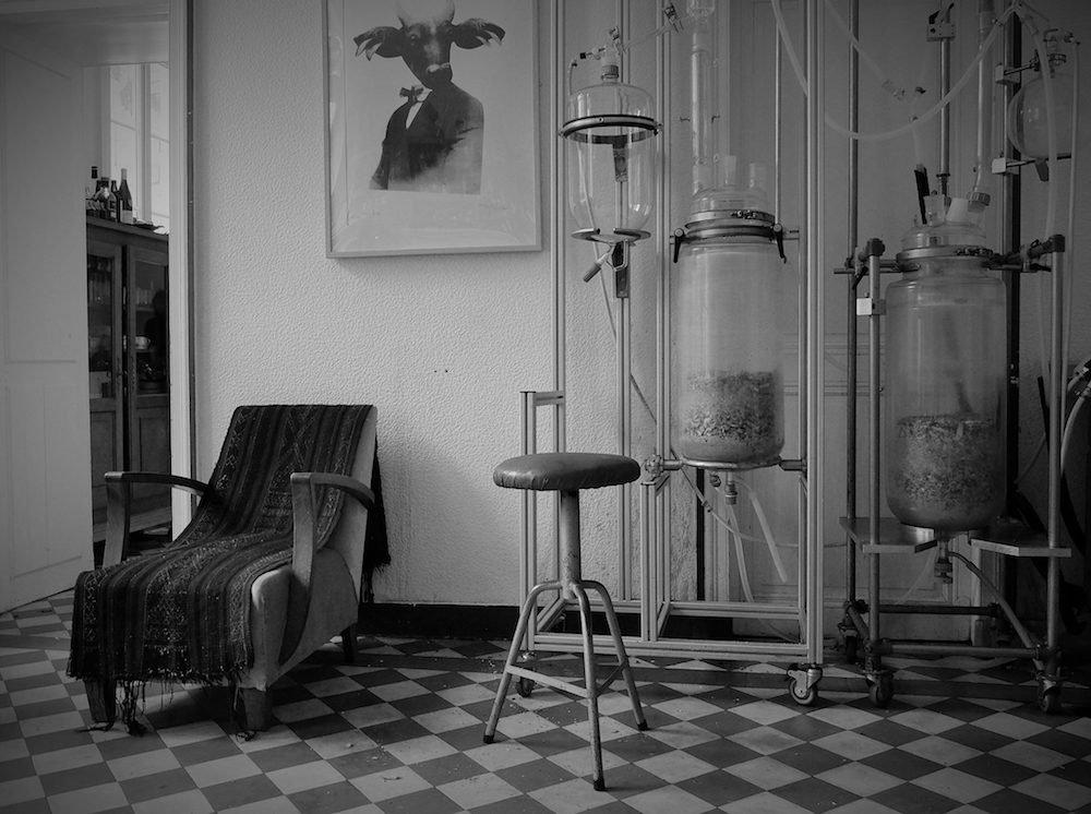 The gin distellery at Audemus Spirits