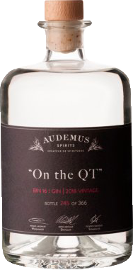 On the QT - limited edition Gin from Audemus