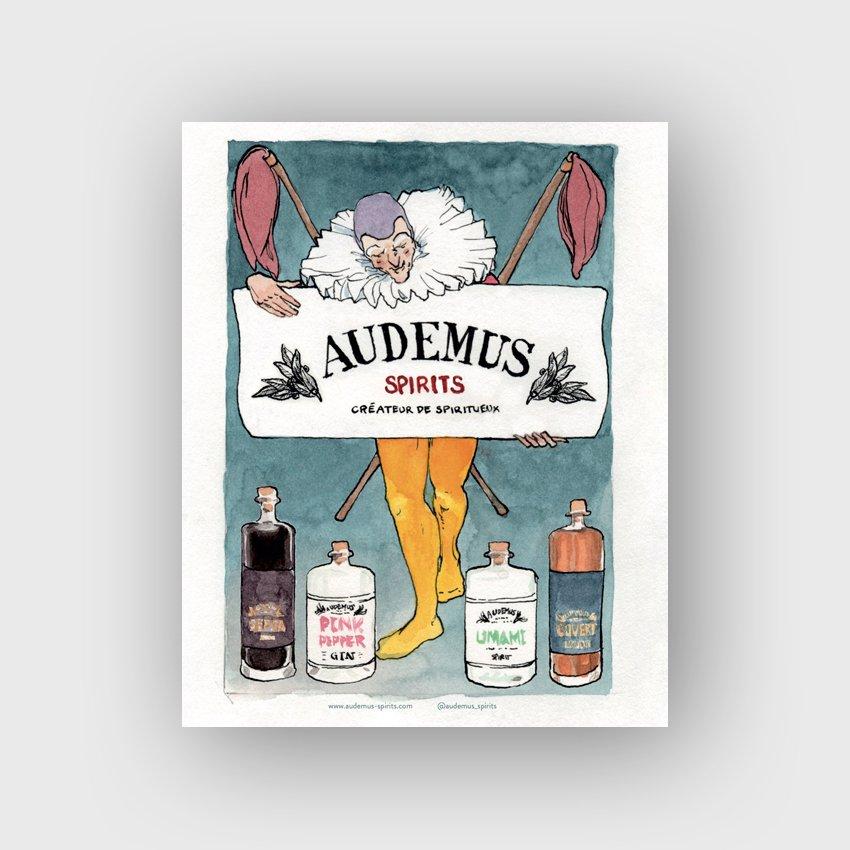 Audemus-Postcards